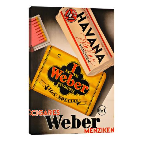 Cigares Weber // Vintage Apple Collection