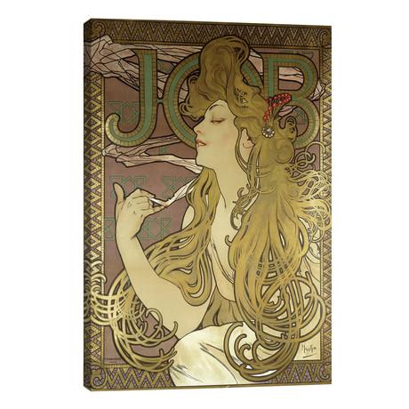 JOB Rolling Papers Advertisement, 1896 // Alphonse Mucha