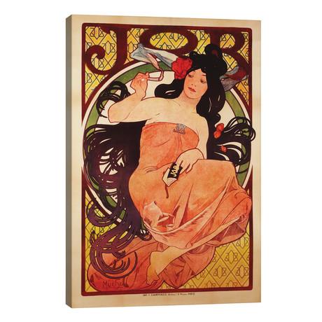 JOB Rolling Papers Advertisement, 1898 // Alphonse Mucha