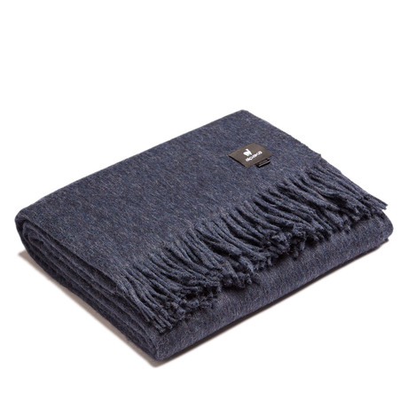 Classic Throw // Navy Blue