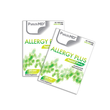 Allergy Plus Topical Patch // 2 Pack