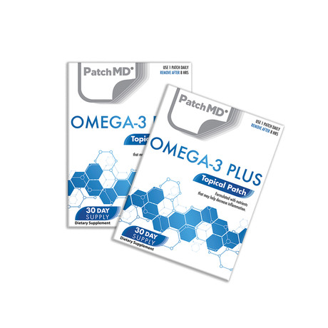 Omega-3 Plus Topical Patch // 2 Pack