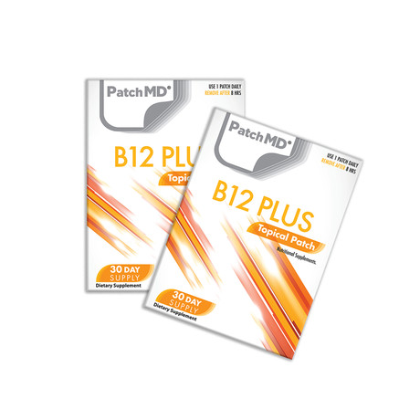B12 Energy Plus Topical Patch // 2 Pack