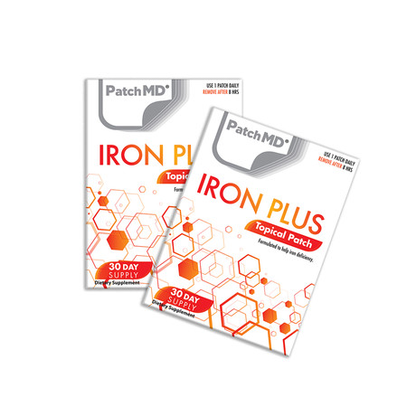 Iron Plus Topical Patch // 2 Pack