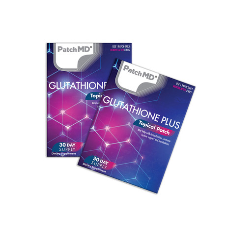 Glutathione Plus Topical Patch // 2 Pack