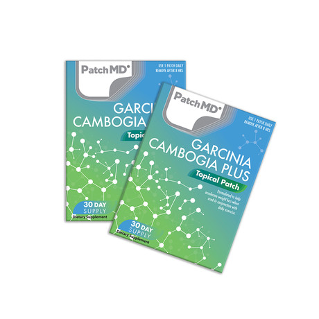 Garcinia Cambogia Plus Topical Patch // 2 Pack