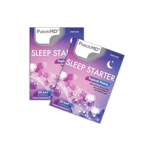Sleep Starter Topical Patch // 2 Pack