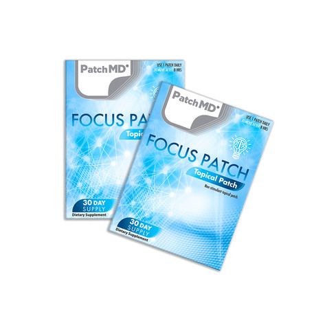 Focus Plus Topical Patch // 2 Pack