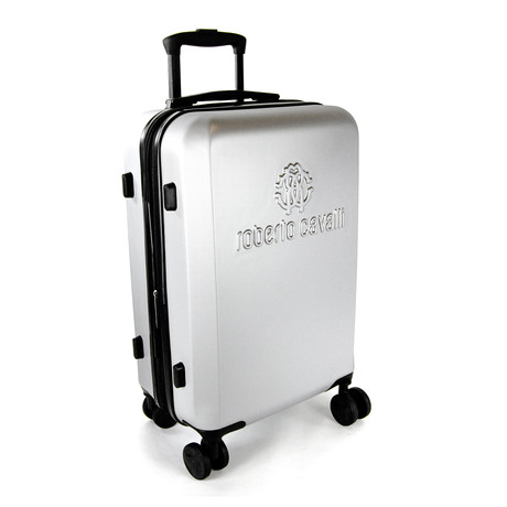 Classic Logo Carry-On Luggage // Silver
