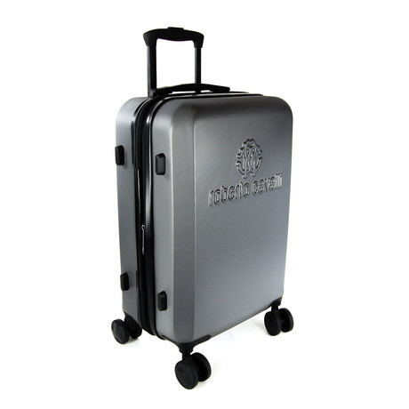 Classic Logo Carry-On Luggage // Gray