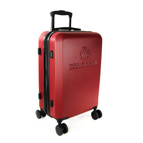 Classic Logo Carry-On Luggage // Burgundy