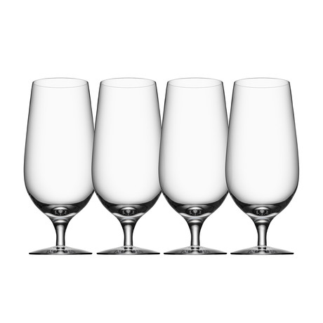 Beer Lager Glass // Set of 4