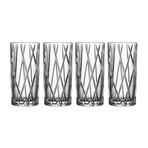 City Highball Glass // Set of 4