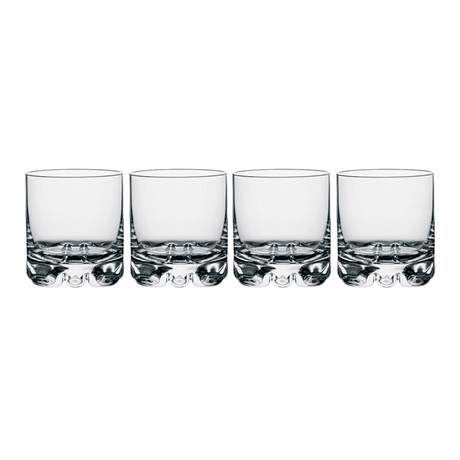 Erik Double Old Fashioned Glass // Set of 4