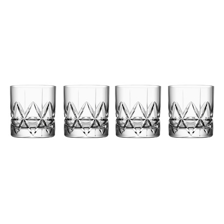 Peak Double Old Fashioned // Set of 4