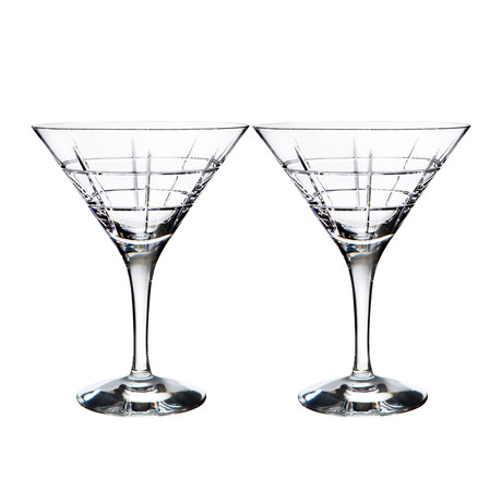 Street Martini Glass // Set of 2