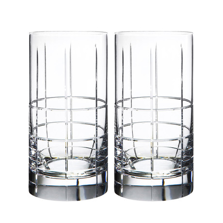 Street Tumbler Glass // Set of 2