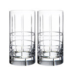 Street Tumbler Glass // Set of 2