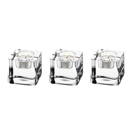 Votive Set // Set of 3 (Ice Cube)