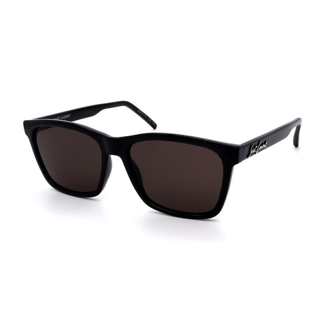 Yves Saint Laurent // Men's SL318-001-56 Sunglasses // Black