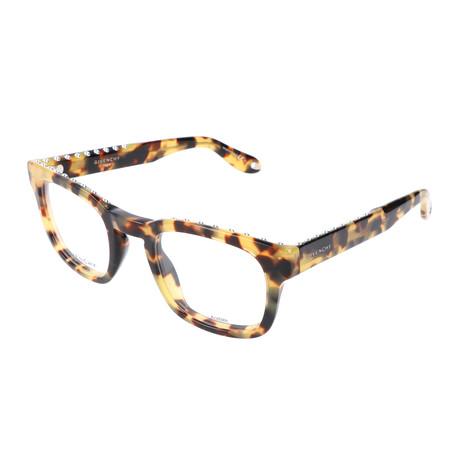 Givenchy // Unisex GV-0006-00F Optical Frames // Spotted Havana