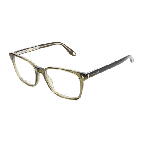 Men's GV-0067-4C3 Optical Frames // Olive