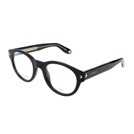 Unisex GV-0031-Y6C Optical Frames // Black + Crystal
