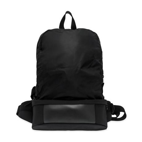 Dunhill // Men's Nylon Waist Bag // Black
