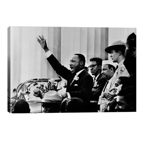 """Martin Luther King """"I HAVE A DREAM"""" Speech // Unknown Artist"""