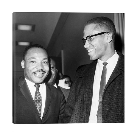 King And Malcolm X, 1964 // Unknown