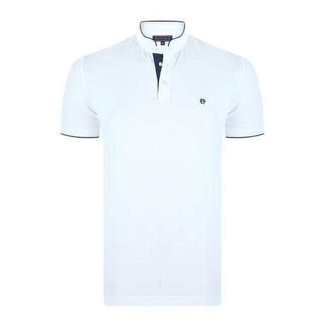 Patrick Short-Sleeve Polo Shirt // Ecru (XS)
