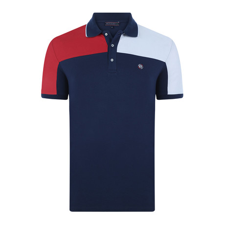 Stanley Short-Sleeve Polo Shirt // Navy (XS)