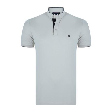 Chris Short-Sleeve Polo Shirt // Stone (XS)