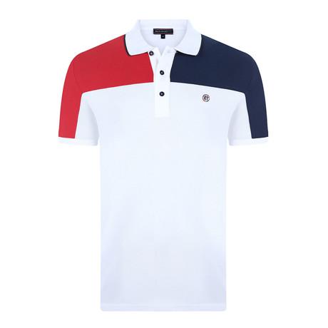 Tony Short-Sleeve Polo Shirt // White (XS)