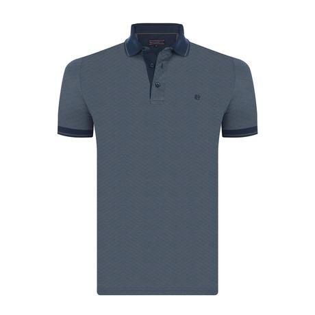 Jessie Short-Sleeve Polo Shirt // Gray (XS)