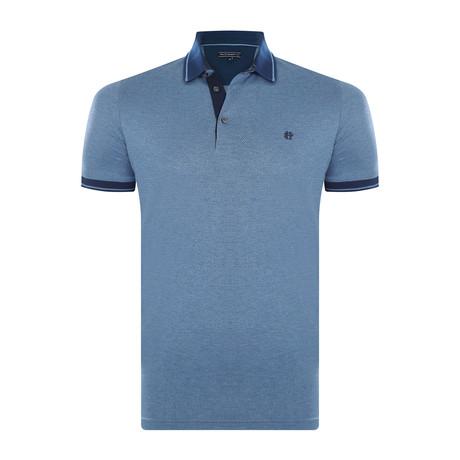 Kennedy Short-Sleeve Polo Shirt // Indigo (XS)