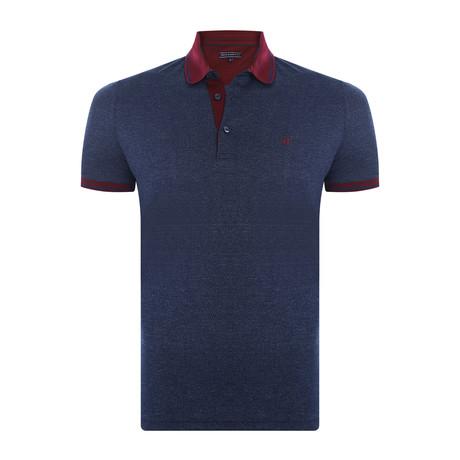 Elias Short-Sleeve Polo Shirt // Navy (XS)
