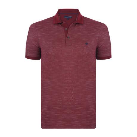 Robin Short-Sleeve Polo Shirt // Bordeaux (S)