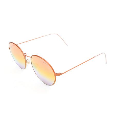 Men's Wire Copper Sunglasses // Orange
