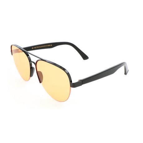 Men's Air Dazed Sunglasses // Black + Orange