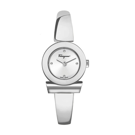 Salvatore Ferragamo Ladies Gancino Swiss Quartz // SFPD01019