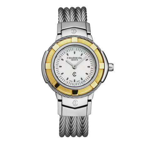 Charriol Ladies Celtic Quartz // CE426SYG.640.010
