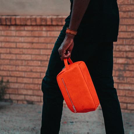 Toiletry Bag // Orange