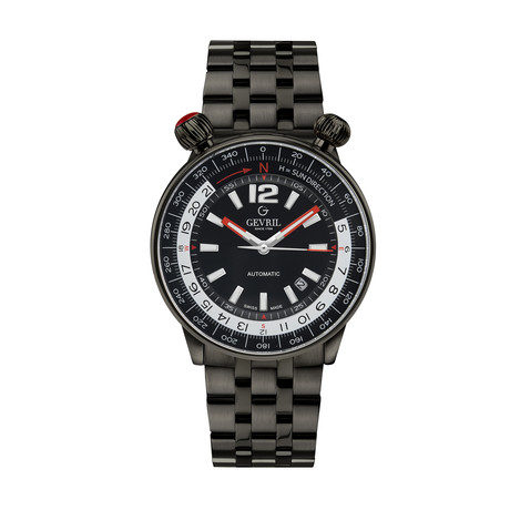 Gevril Wallabout Swiss Automatic // 48562