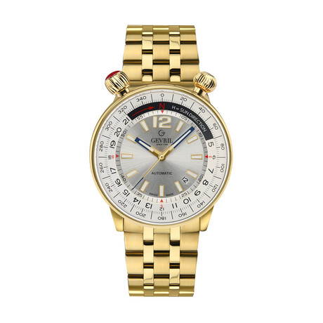 Gevril Wallabout Swiss Automatic // 48565