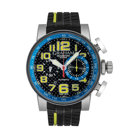Graham Silverstone Racing Stowe Chronograph Automatic // 2BLGA.B41A // Store Display