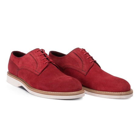 Titus Casual Dress Shoes // Red (Euro: 38)