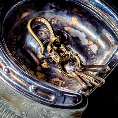 Skull Hook // Type 3 // Brass