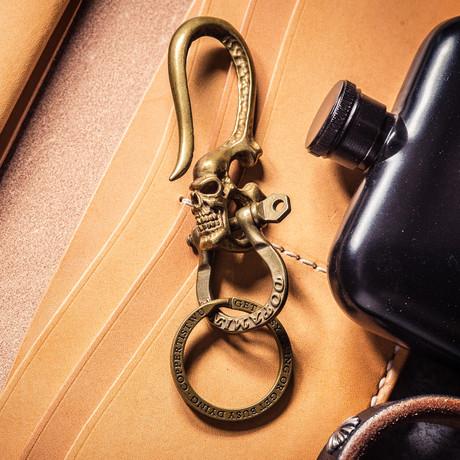 Skull Hook // Type 1 // Brass