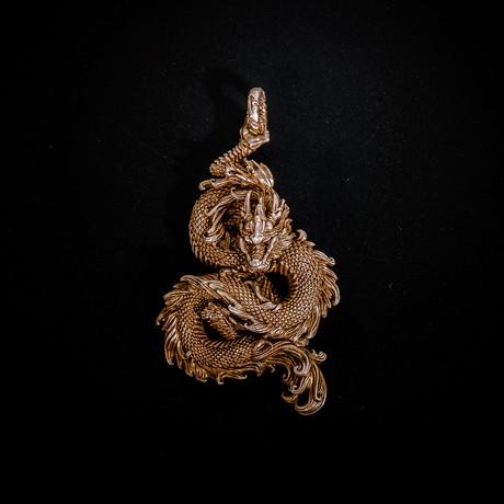 Dragon // Pendant // Brass